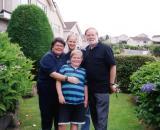 Searles Family - Liz, Mack, Mick and Douglas -- Missionaries to China