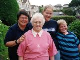 Sr. Mary with Dr. Elizabeth Seales, Mackenzie and McCleary - missionaries to China