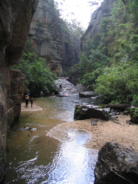 wollangambe 1 exit point