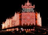 Galeries Lafayette by night