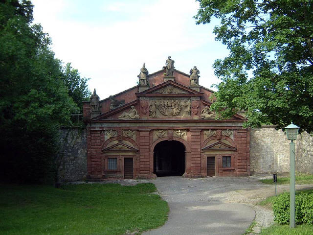 the gate to the gardens