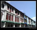 Shop houses at Tanjong