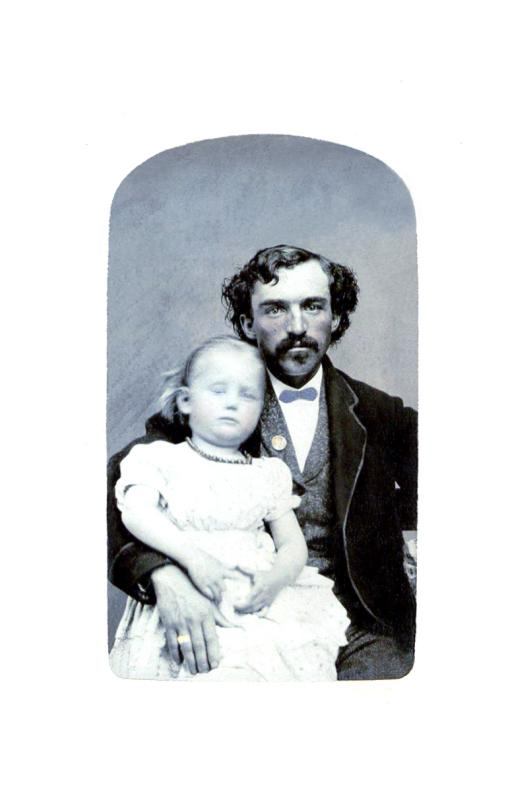 John Graves and Daughter Frances (#30)