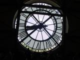 From the coffee shop behind the museum's giant clock