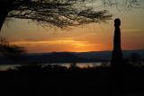 Sunrise over Lake Baringo