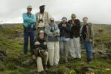 Kenya tour group . . . guess who got sick shortly after this shot?