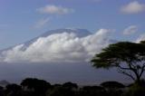 Kilimanjaro from our Amboseli camp in Kenya