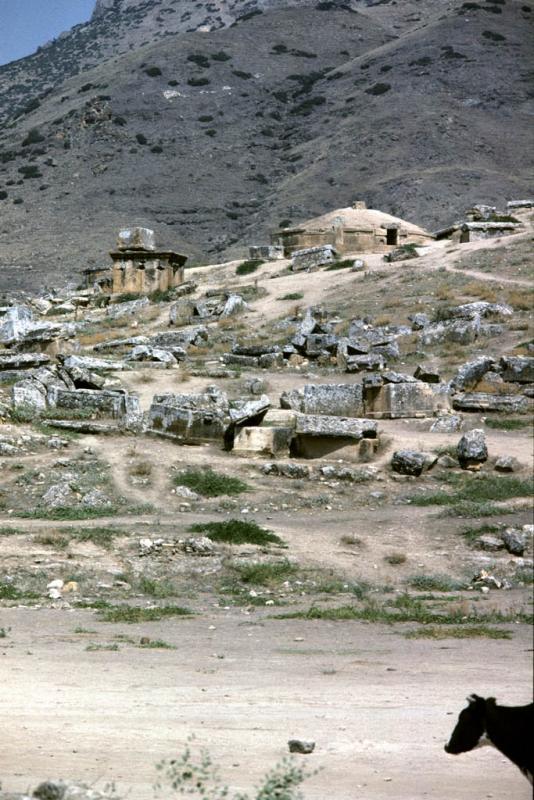 Hierapolis necropolis view