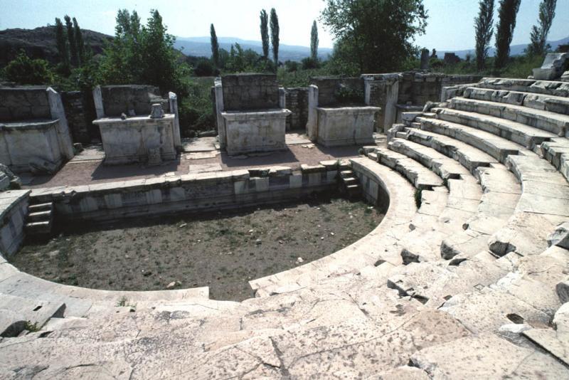 Afrodisias odeon