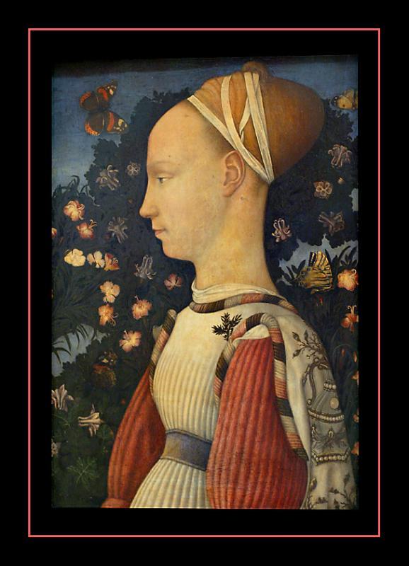 Portrait de Ginevra dEste ( 1436) par PISANELLO