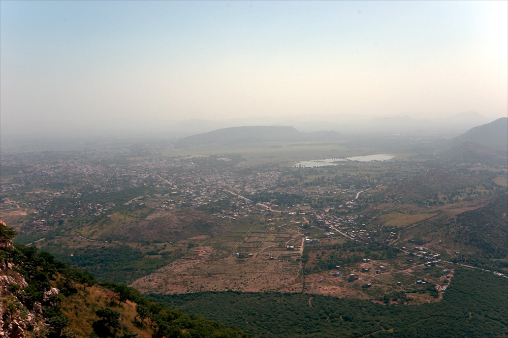 Udaipur, from the Monsoon Palace