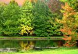 golf en automne