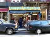 Thompson Street News Stand at 3rd Street