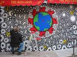 Red Lion Mural