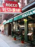 Rocco Restaurant below Bleecker Streeet