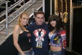Tiffany Lang, me and Miki Black