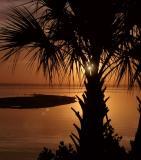 Sunrise along the Banana River