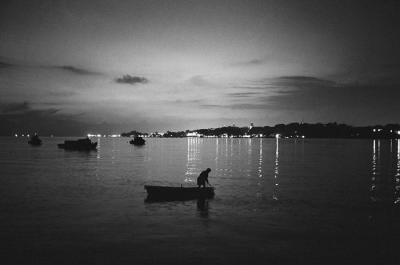Fisherman at Dawn