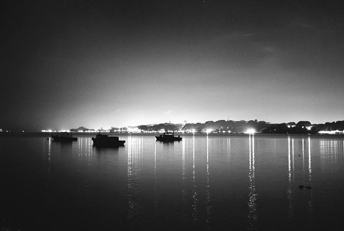 Boats from Pulau Ubin Jetty