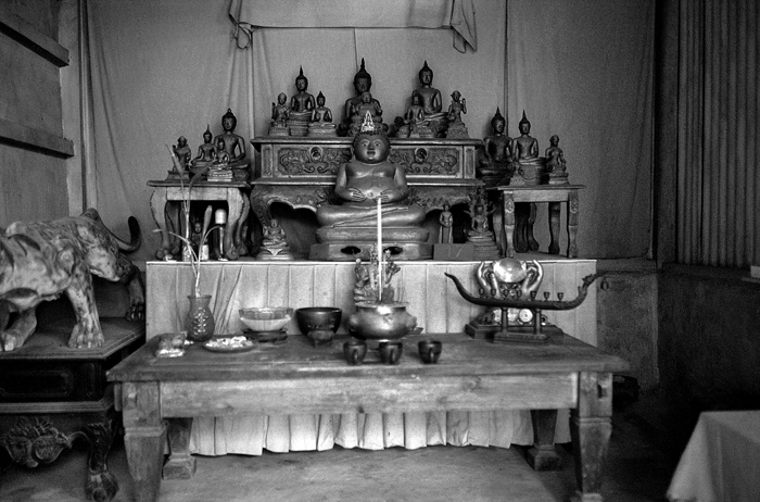 Altar of Thai Buddhism