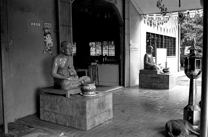 Entrance of Thai Buddhist Temple
