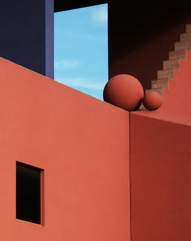 Upper South Facade<br>Abstract 1