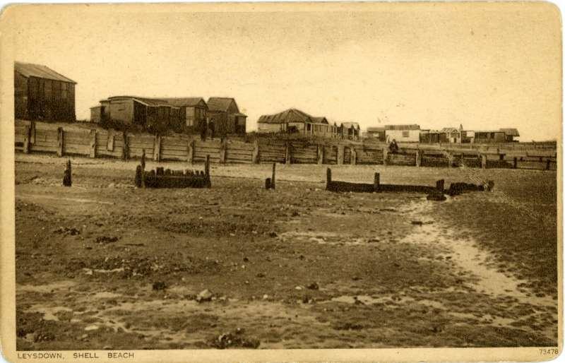 Shell Beach, Leysdown