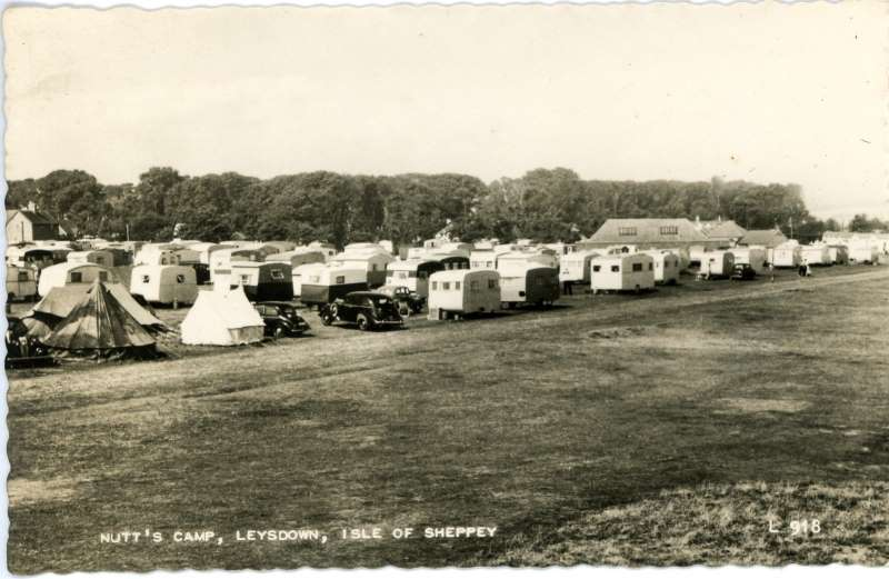 Nutts Camp, Leysdown 1961