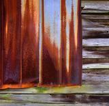 Rusted Barn Siding