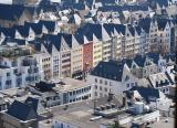 Altermarkt, seen from South Tower of Cologne Cathedral