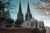 Cologne Cathedral with Museum Ludwig