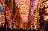 Light Performance in Cologne Cathedral