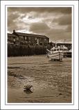 Low tide, Lyme Regis