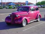 burgandy 38 Chevy