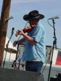 Chuck on fiddle