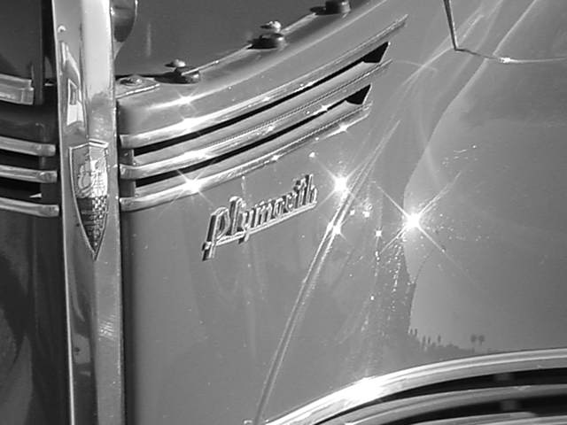 B&W 40 Plymouth <br>former military escort