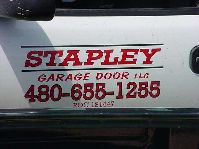 Stapley Garage doors <br>480-655-1255