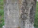 Father J.H. (James Henry) North b.18Jan1835 in Jefferson Co. TN d.8Mar1899   m.Laura C. (Cordelia) North b.11Sept1854d.17Dec1898