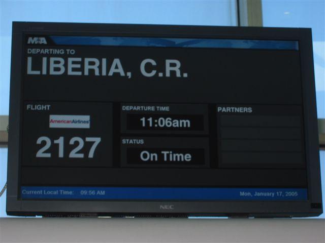 Costa Rica, here we come
