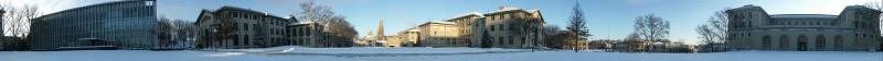 Carnegie Mellon University in the Snow