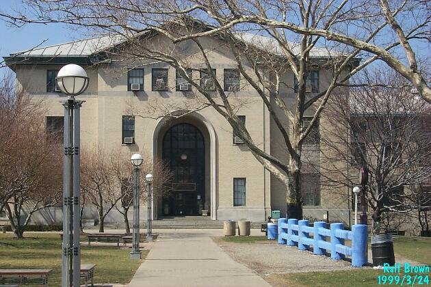 Doherty Hall and the Senior Fence