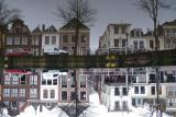 Reflections of  Leiden city