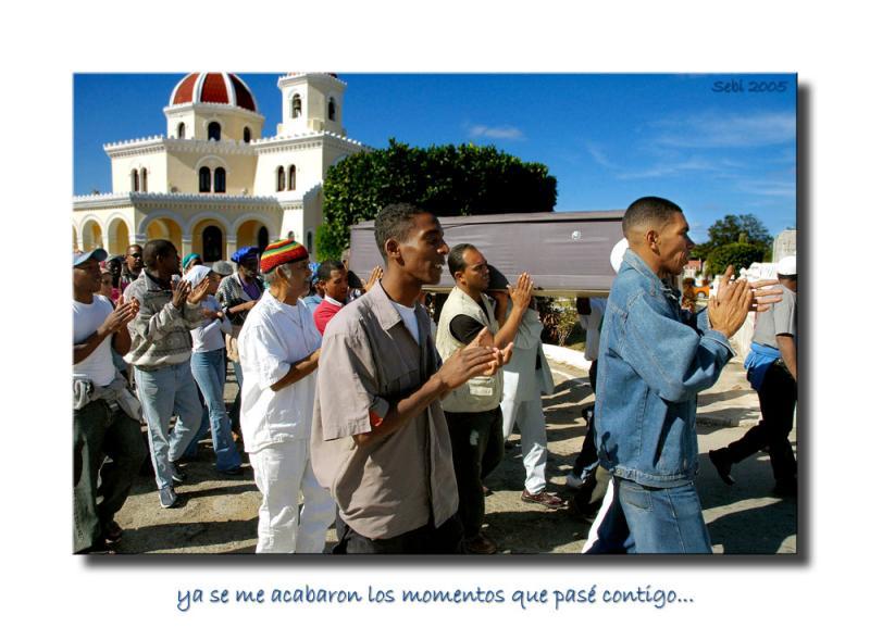 El funeral de Pancho Quinto (rumbero)