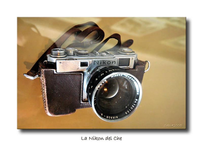 La Nikon del Che