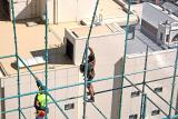 Scaffolders at Work - Safety Incident