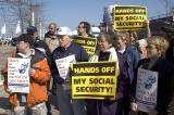 Social Security Rally- Cleveland April 15, 2005