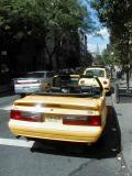 Yellow Mustang, Yellow Beetle, Empire State in Soho
