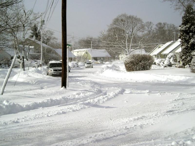 North Merrick winter wonderland