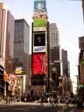 Times Square on half-price ticket day