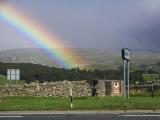 Rainbow on the A65